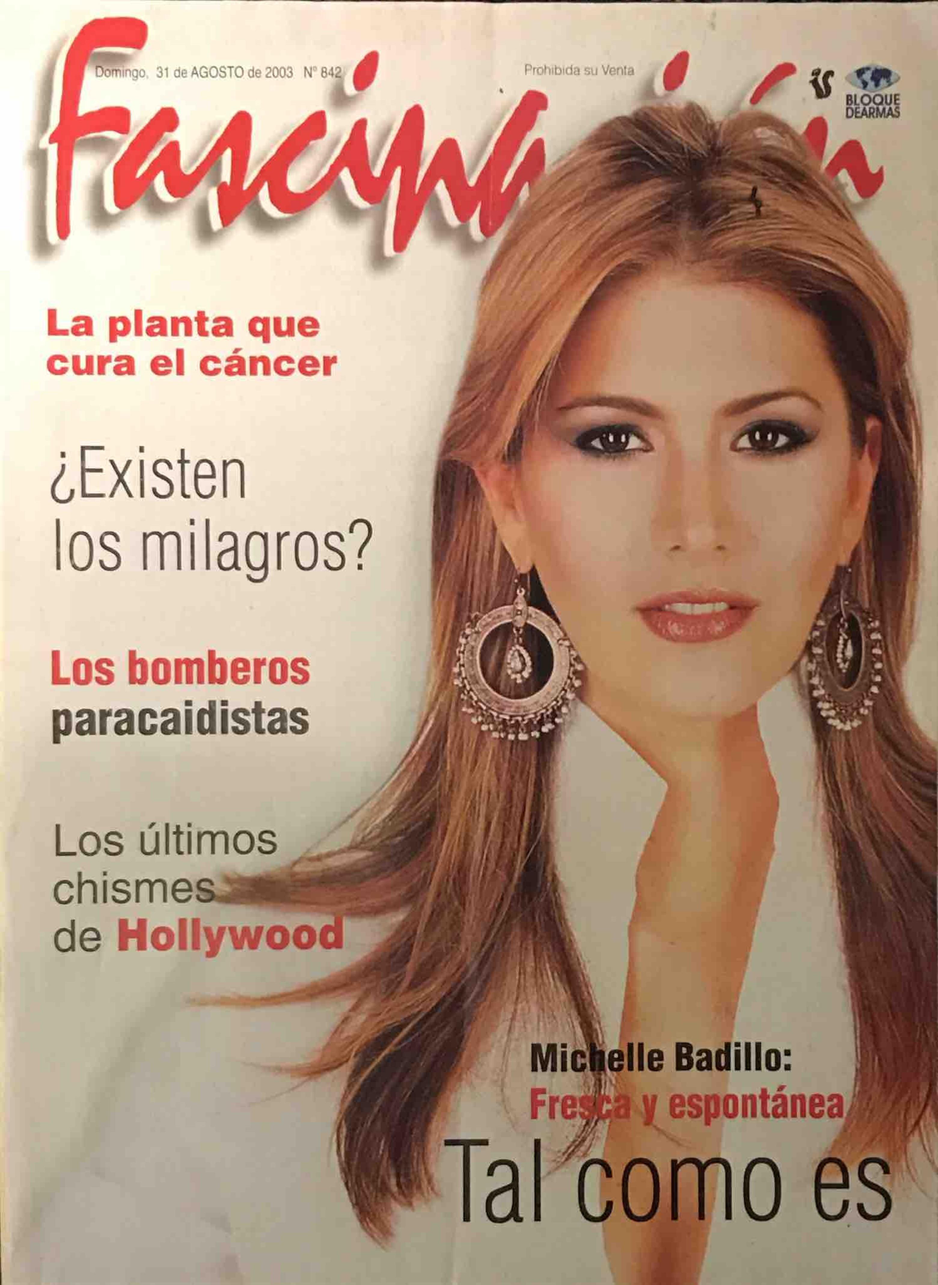 Michelle Badillo Fresca y espontánea Revista Fascinación - www.michellebadillo.com
