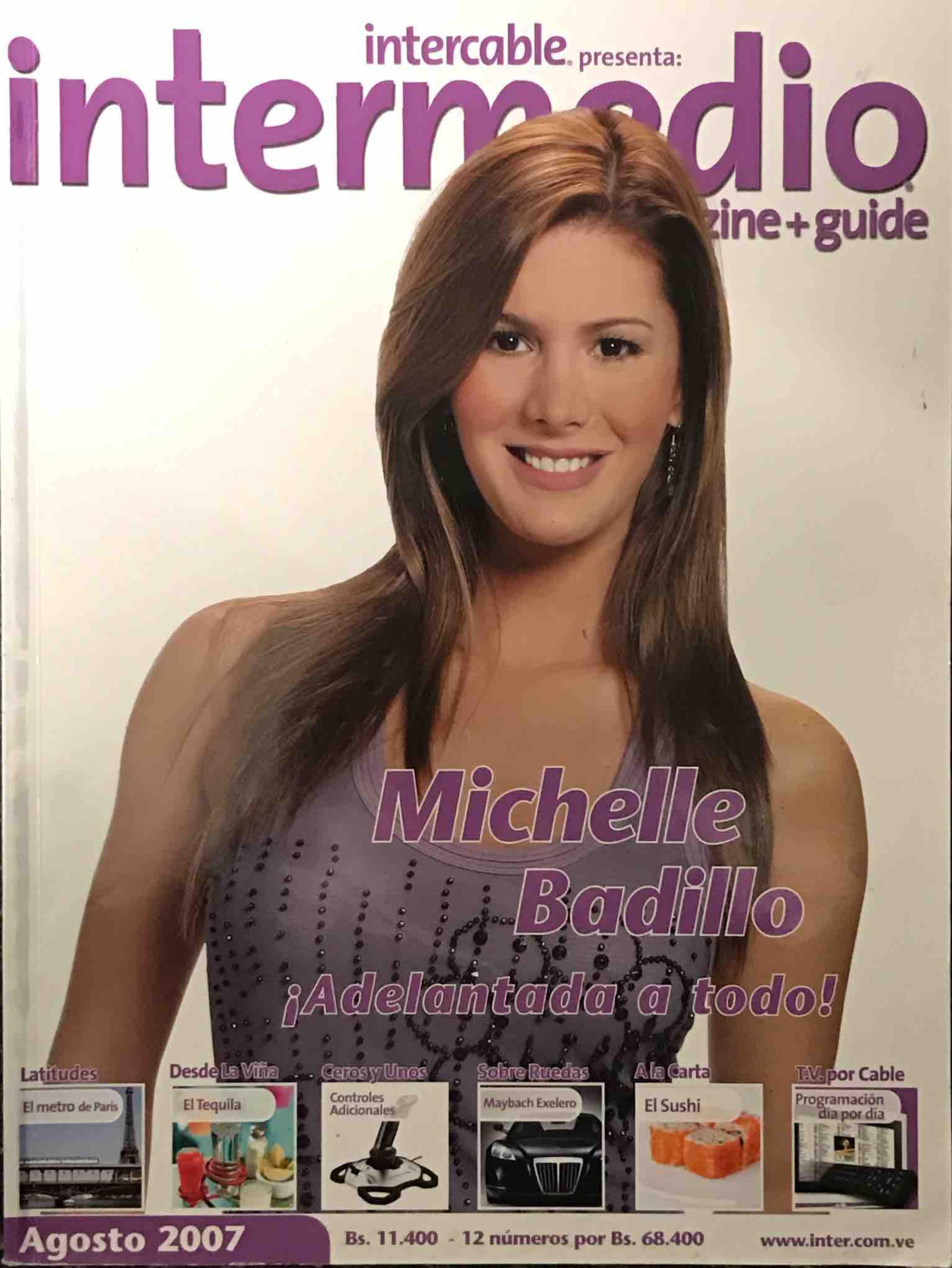 Michelle Badillo ¡Adelantada a todo! - Michelle Badillo