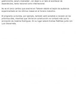 Michelle Badillo a las puertas de Televen - EL UNIVERSAL-page-002