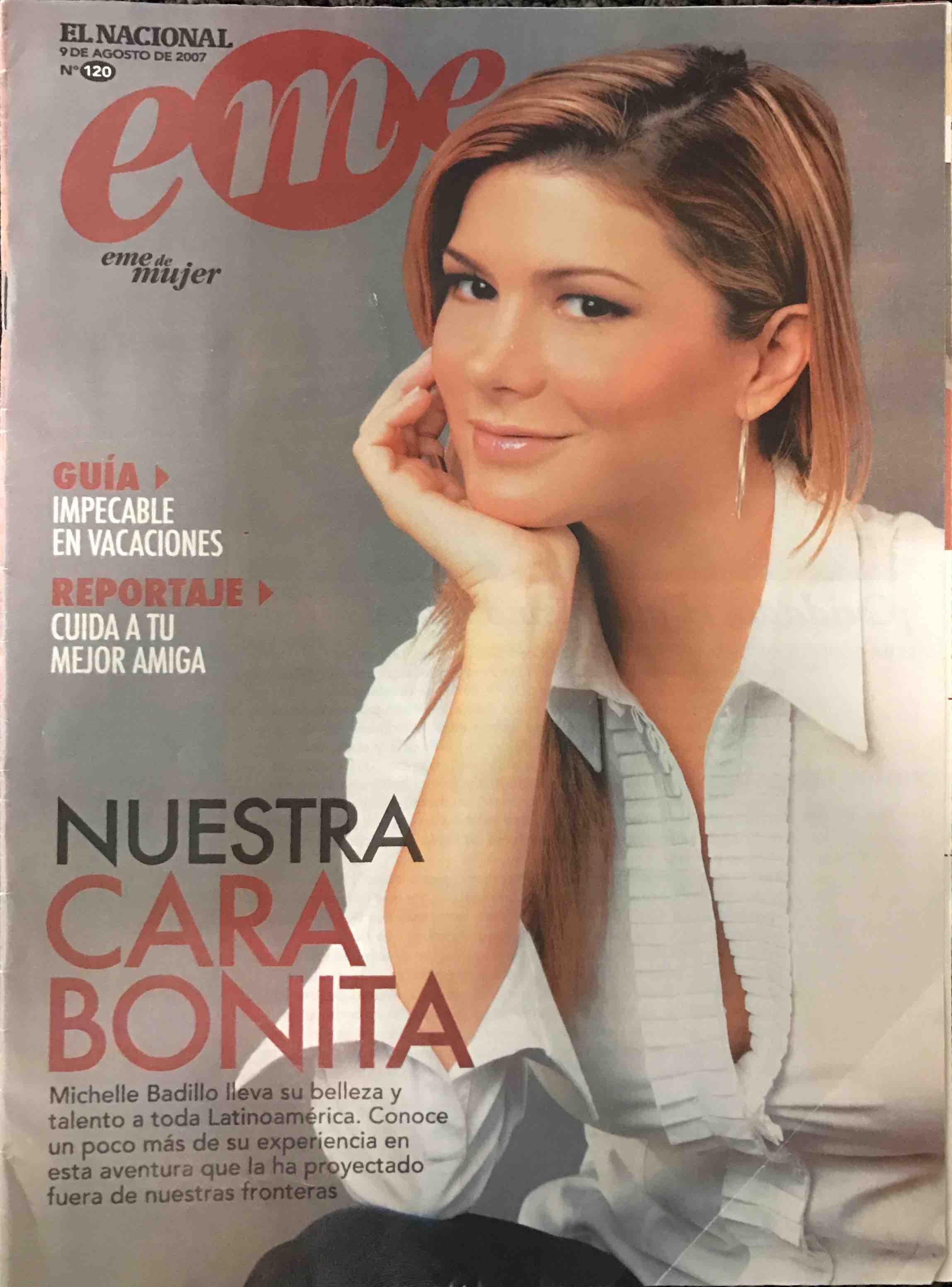 Nuestra Cara Bonita Michelle Badillo Eme - www.michellebadillo.com